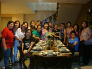 The Centro Ladies  at Crosswinds Suites And Resort Tagaytay for the Club Assembly