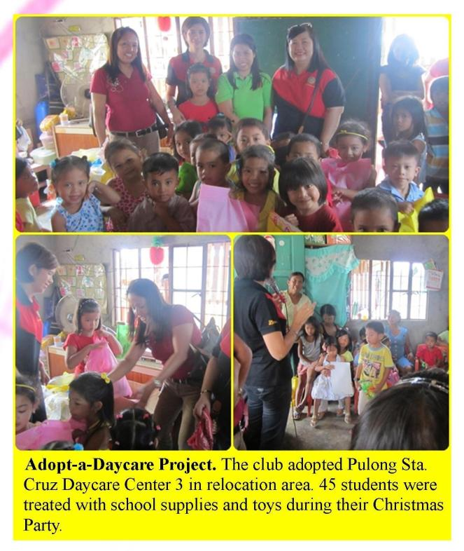 Adopt-a-Daycare Project