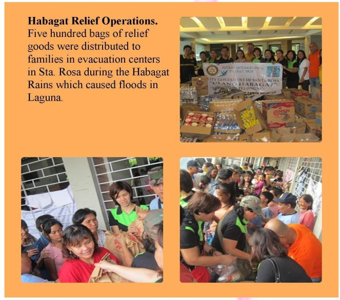 Habagat Relief Operations