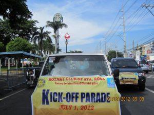 kickoff parade