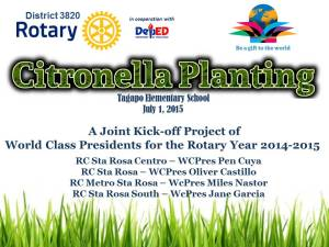 Citronella Planting Tarp rev