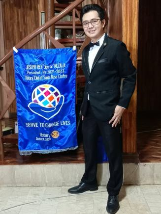 Amazing President Joseph Rey Alcala